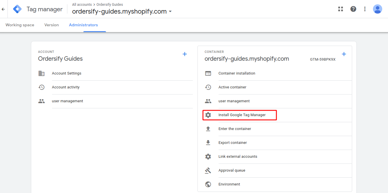 Step 1. Install Google Tag Manager