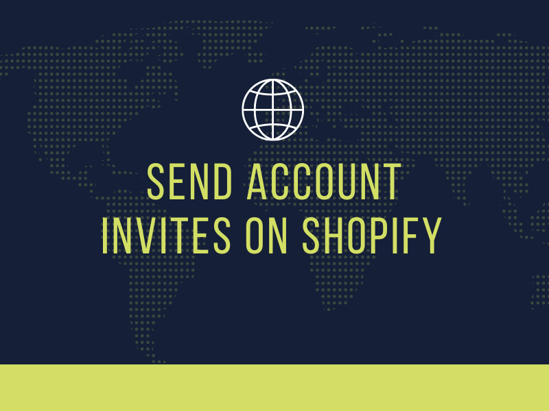 How to send account invites on Shopify