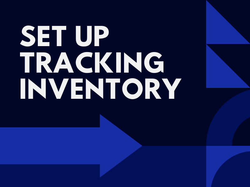 How to set up inventory tracking on Shopify
