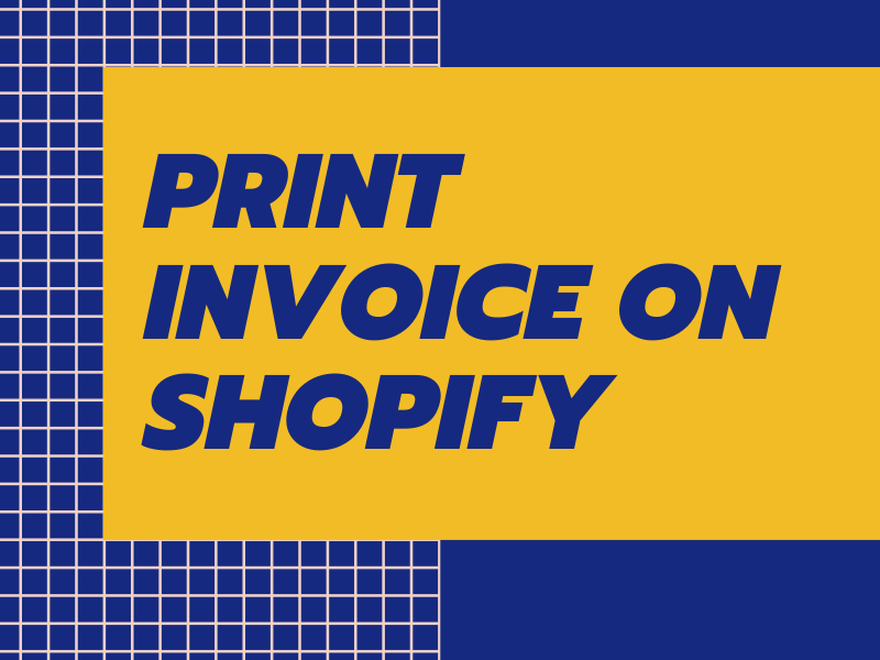 How to print an order on Shopify
